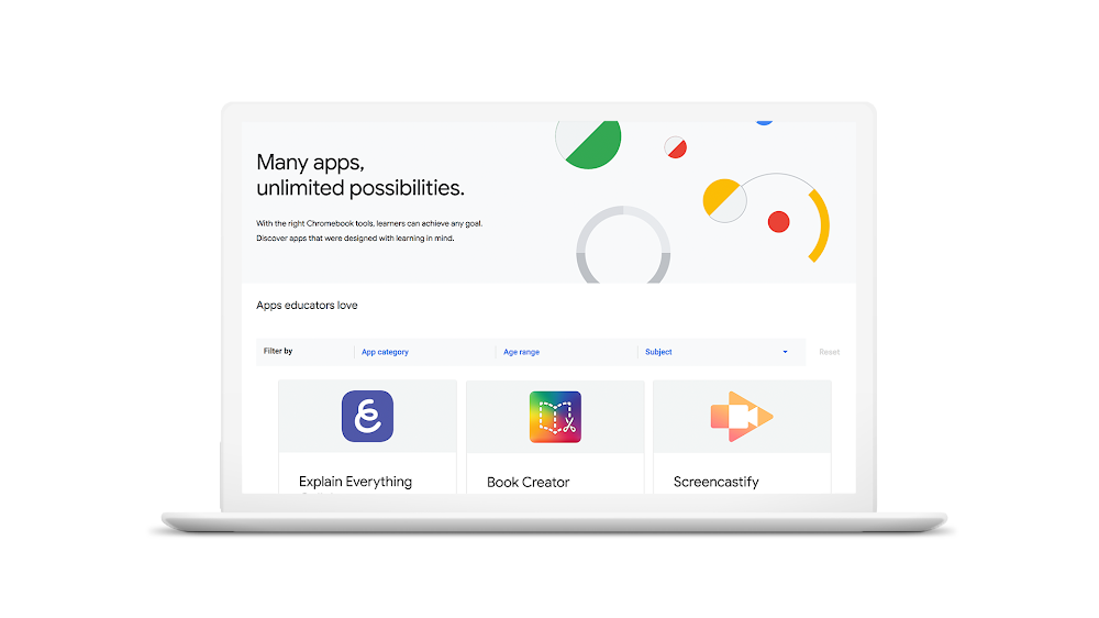 Google to launch a 'Chromebook App Hub' for educational