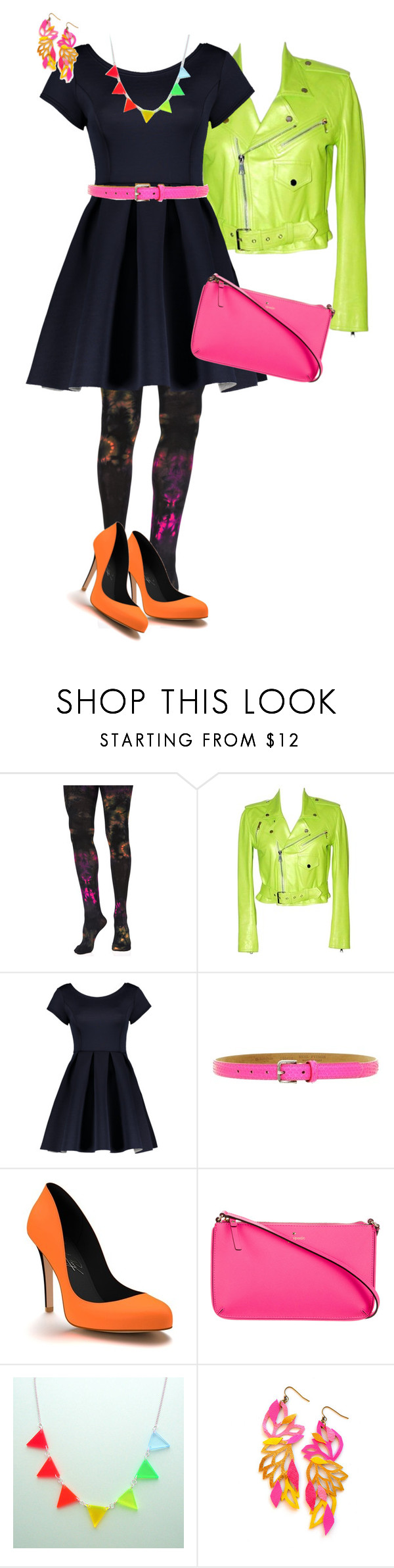 """Untitled #1533"" by pholtond on Polyvore featuring Music Legs, Ralph Lauren, Fausto Colato, Shoes of Prey and Kate Spade"