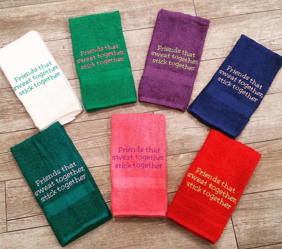 Personalized Hand Towels Embroidered for Promotional Gifts