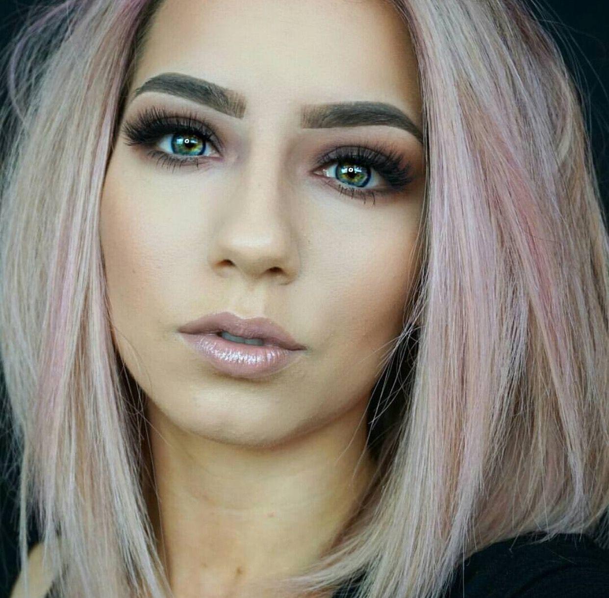 Hair Color For Fair Skin, Krystal