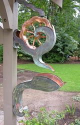 Pin By Lynne Decker On Good Ideas Downspout Garden Art Rain Gutters