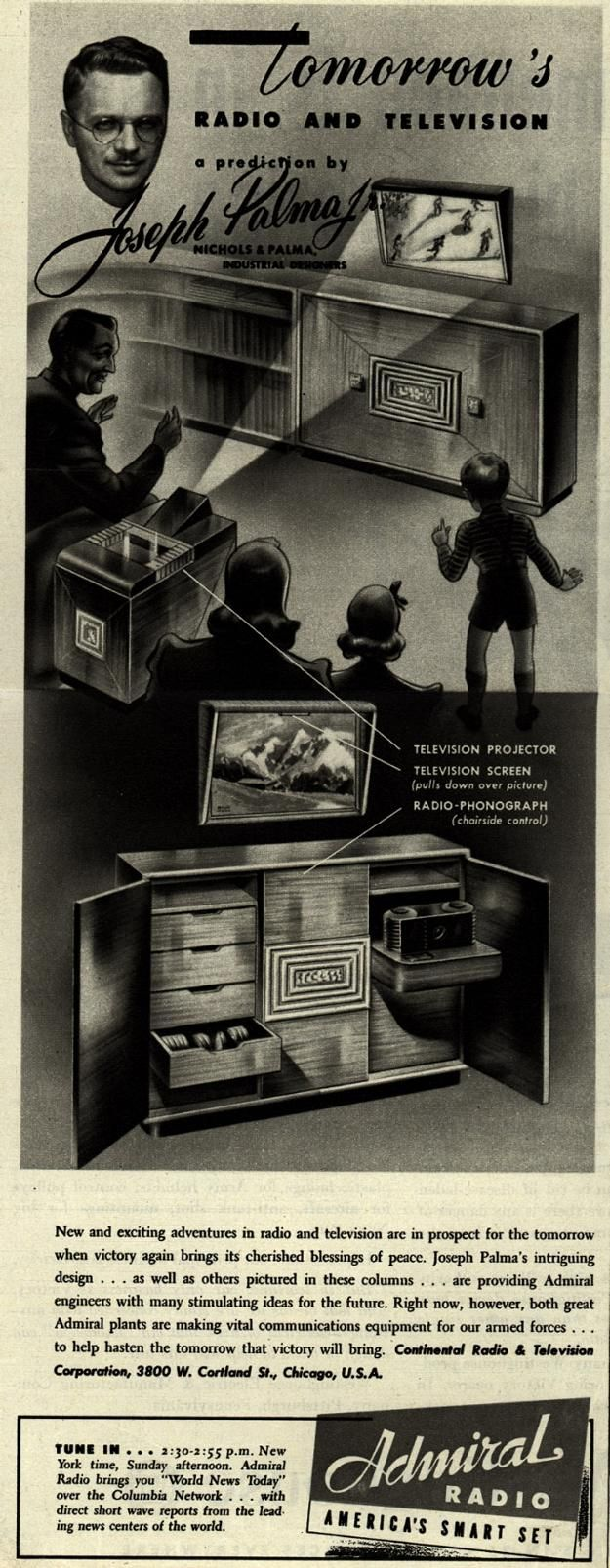 Tomorrow's Radio and Television . From Duke Digital Collections. Collection: Ad*Access