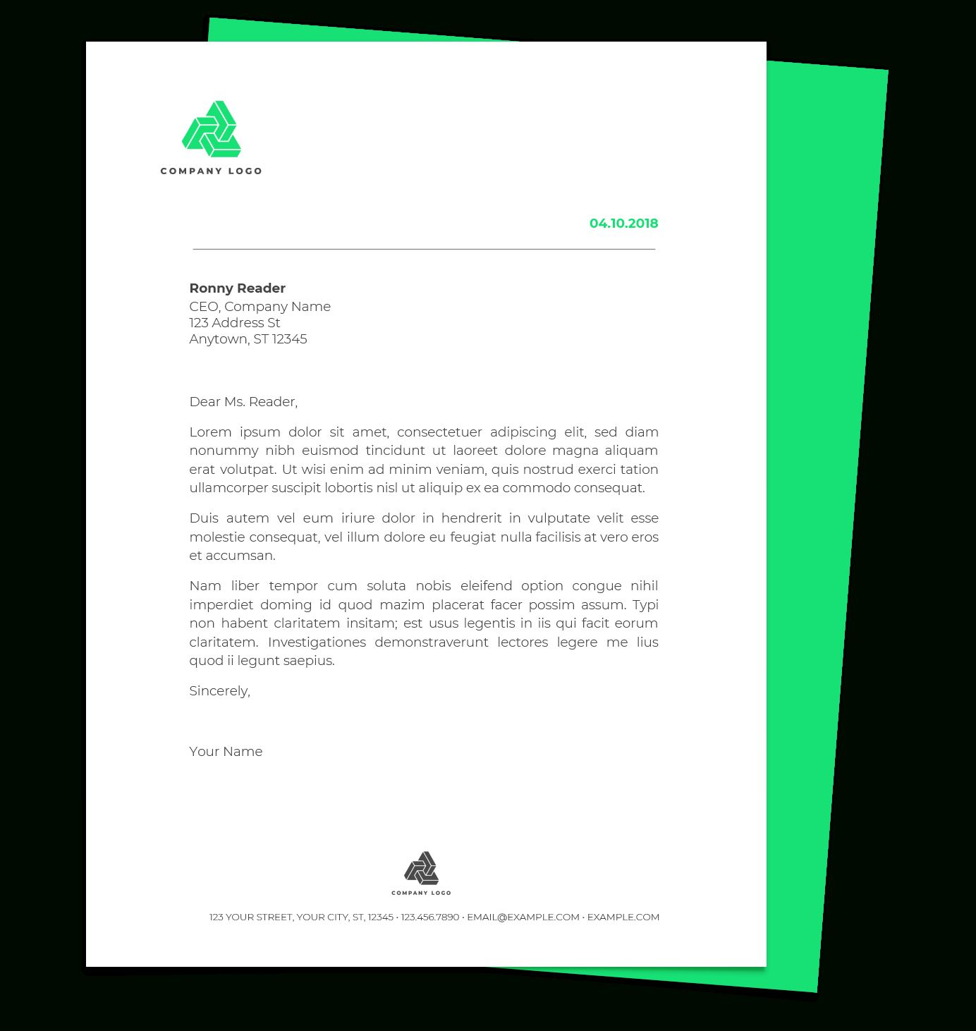 the fascinating 015 free letterhead template working entry level resume examples for college students layout first job senior automation engineer