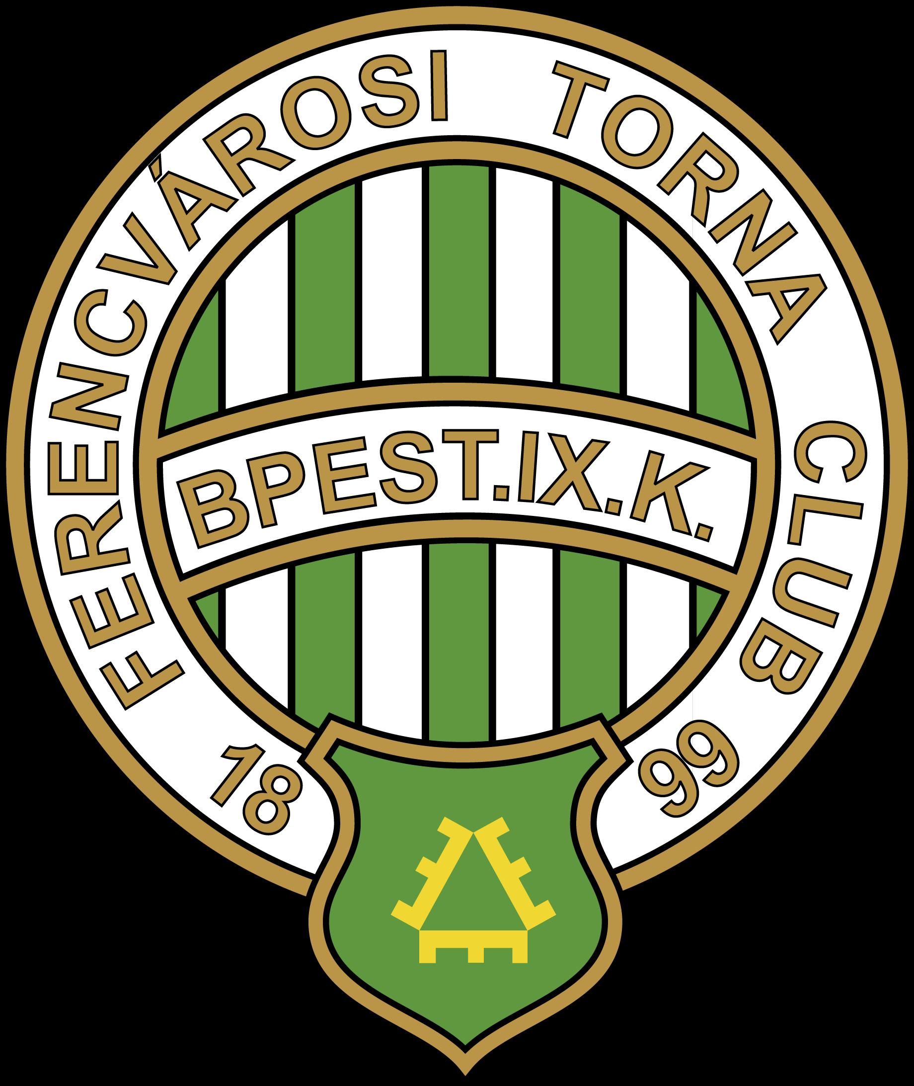 Ferencvarosi Torna Club Football Logo Logos Vector Logo
