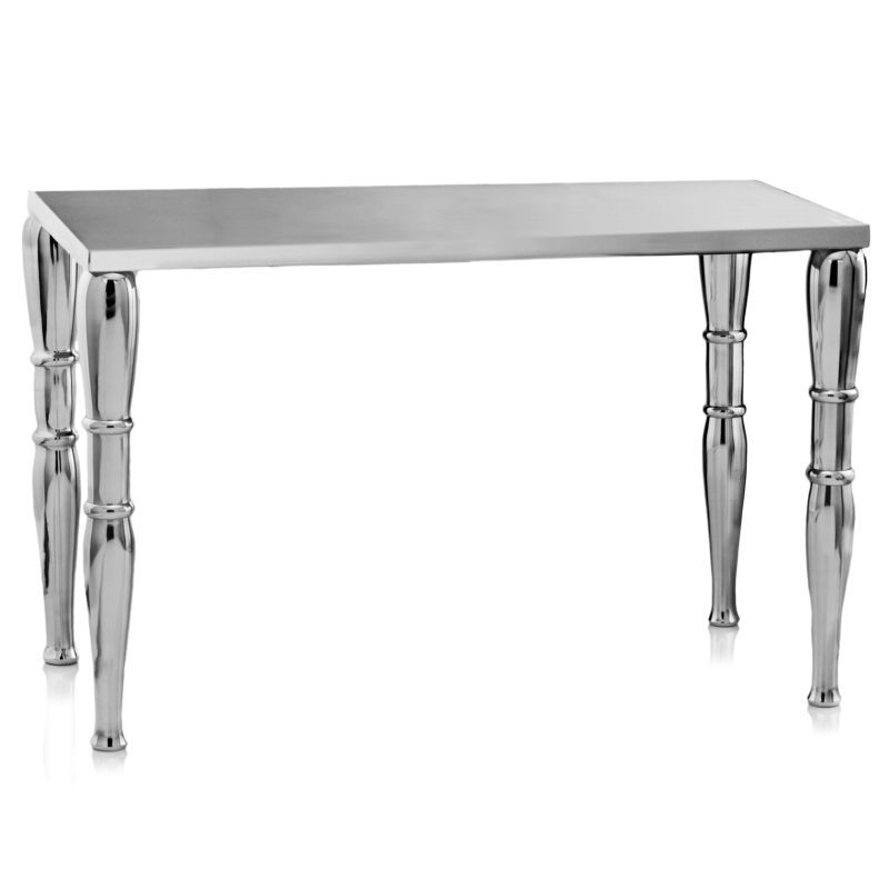 Modern Day Accents 8722 Jackson Rect Table/Bench Silver Furniture Tables Coffee Tables