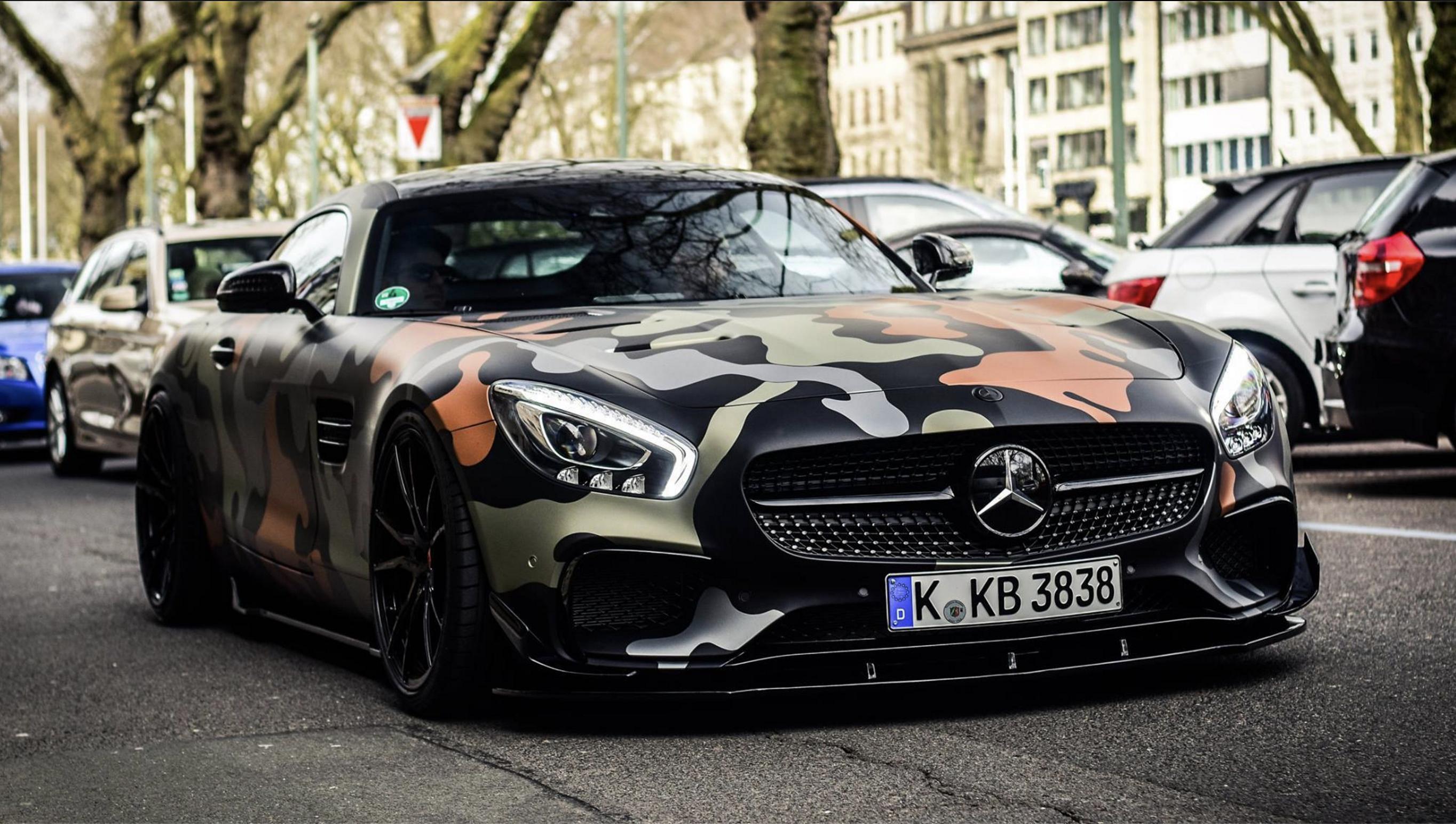 Mercedes Camo