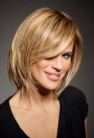 Image result for med long hairstyles for women over 50 | Hair ...