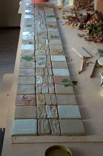 Peter's Pottery: ABOUT TILES AND GLAZES by Peter Gregory