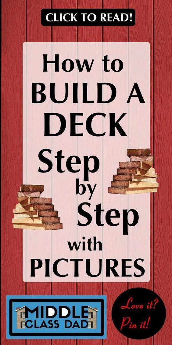 Best How To Build A Deck Step By Step With Pictures Deck 400 x 300