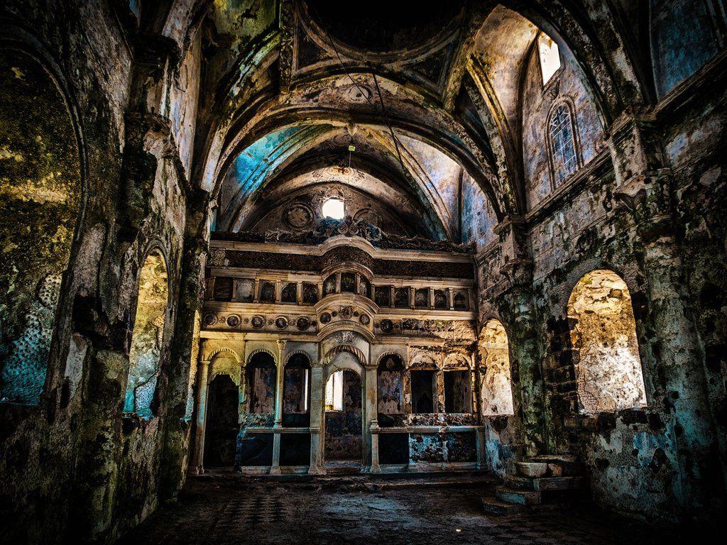Abandoned Church abandoned greek orthodox church at kayakoym-hutcheson