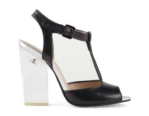 247703f8ae Sandálias em pele e acrílico, Aldo, € 99,90 | Fashion | Pinterest ...
