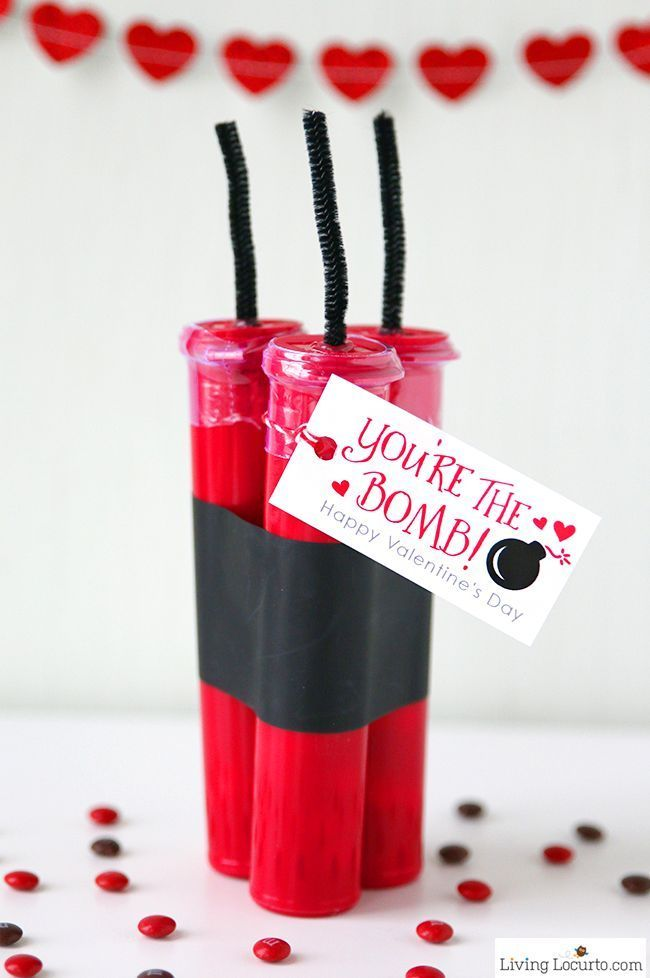 Creative Diy Valentine S Day Candy Gift This Cute Love Is Fun For School Parties Or A Teacher