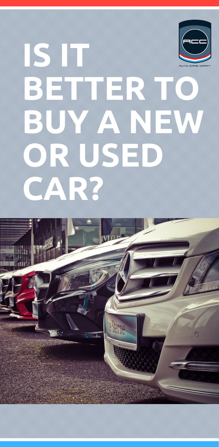 New And Used Cars Whether To Buy A New Or Used Car Buying A Car Online Pinterest