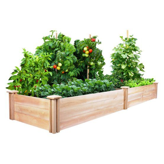 Greenes 2 X 8 Ft. X 10.5H In. Cedar Raised Garden Kit