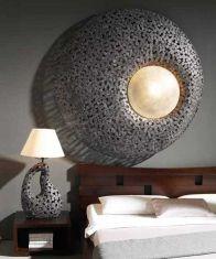 Lampade in stile Etnico in metallo CONCENTRICA Lampade