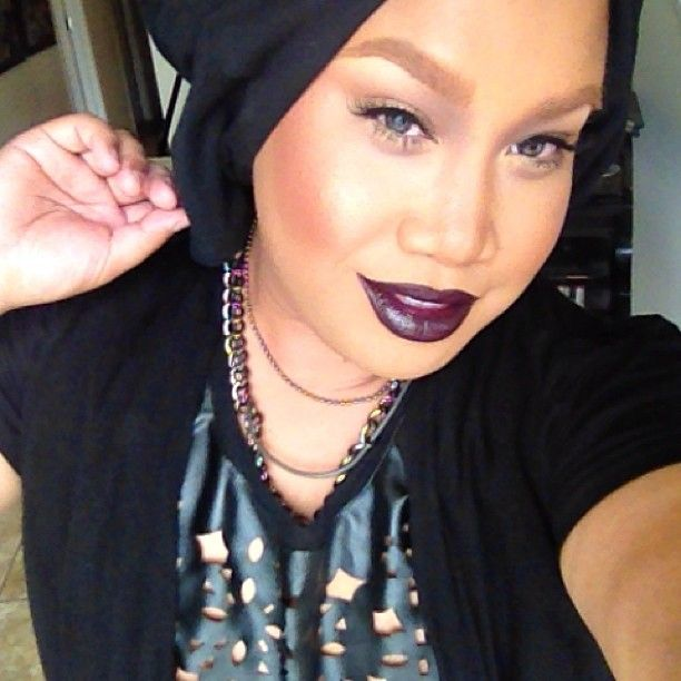 'Cyber'.... My first MAC lipstick I ever bought! Xoxo. What is your favorite?! - @patrickstarrr- #webstagram