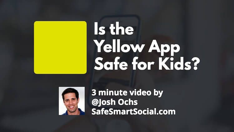 tinder for kids yellow