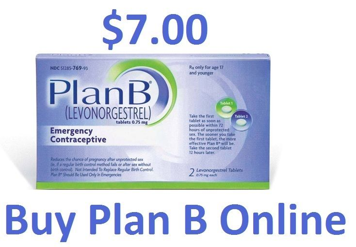 birth control pill plan b