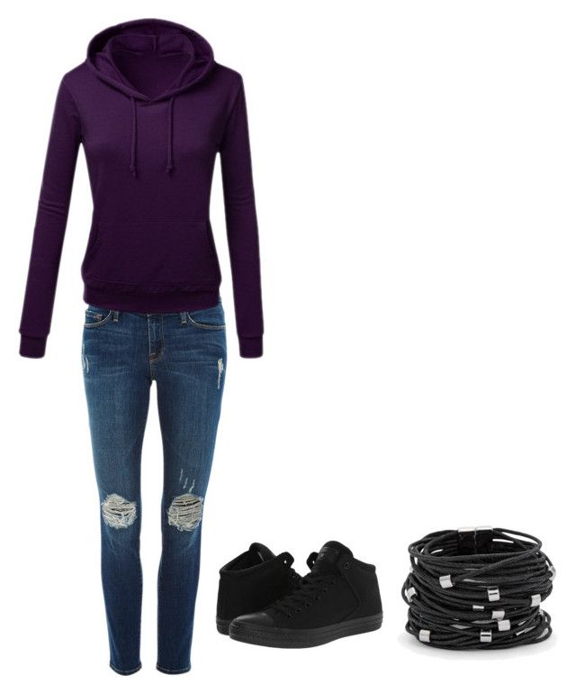 """""""Raelyn Miles outfit 1"""" by muddyfish ❤ liked on Polyvore featuring Frame, Converse and Chico's"""