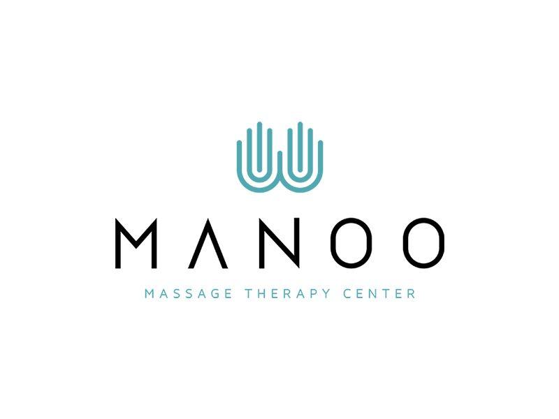 massage therapy logo  Manoo Logo | Graphics | Pinterest | Therapy, Logos and Massage logo