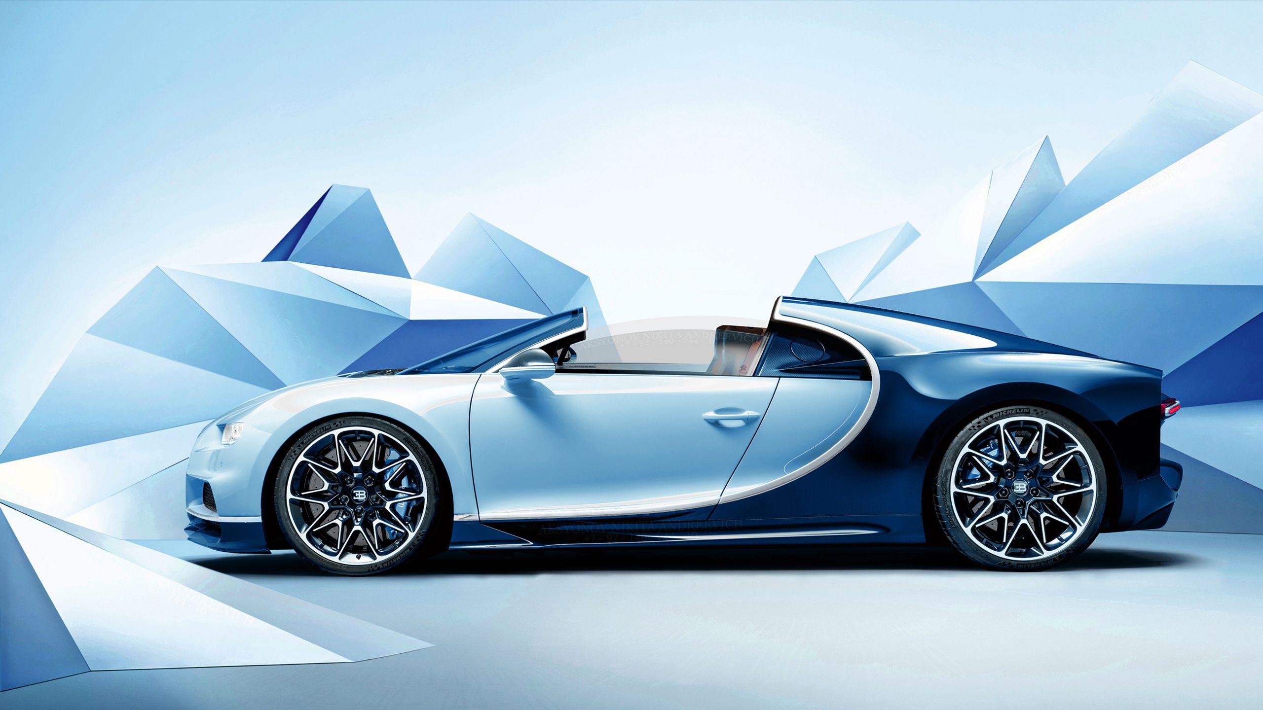 Bugatti Chiron Cars Sportcars Blue Bugatti Supercars