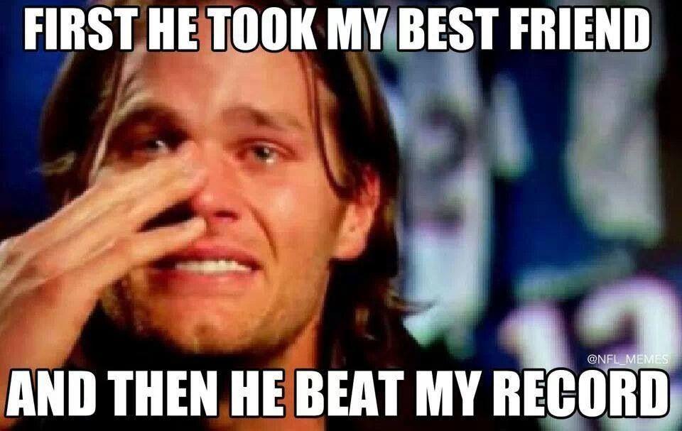 Peyton took Brady's man :)