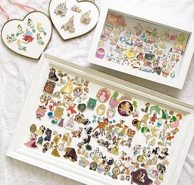 Disney Pin display   Disney Parks   Pinterest   Disney pin display ...