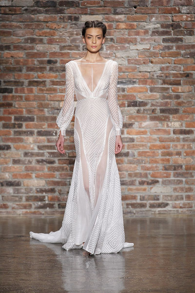 Hayley paige runway show fall wedding dresses and fashion
