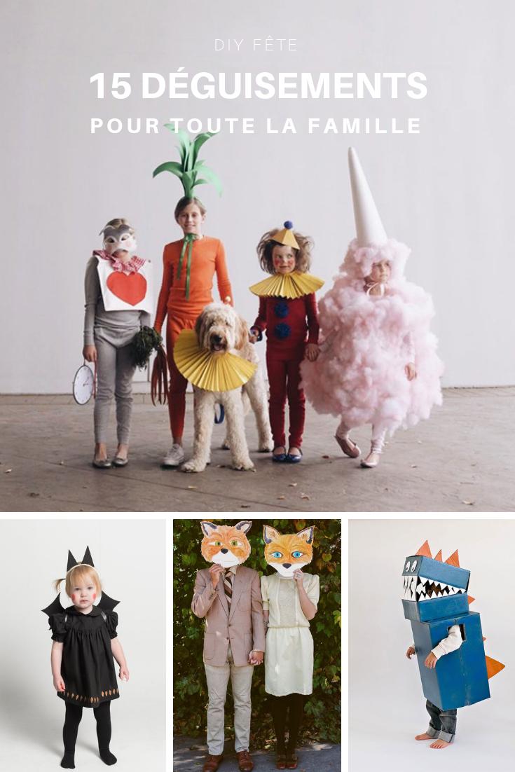 Quatang Gallery- 10 Idees De Costumes D Halloween Faciles A Faire Pour Les Enfants Idee Costume Halloween Deguisement Famille Costume Halloween