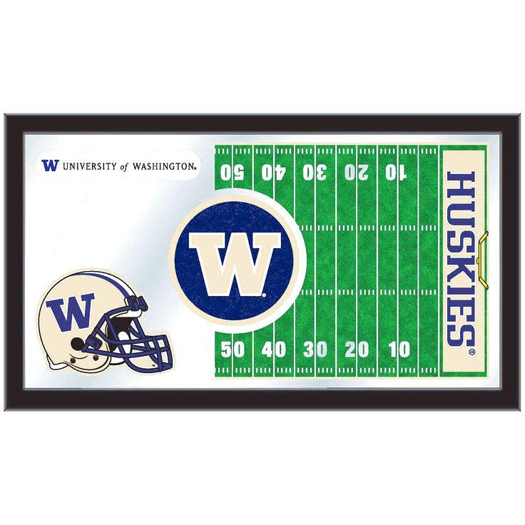 "Washington Huskies 15"" x 26"" Football Mirror - $64.99"