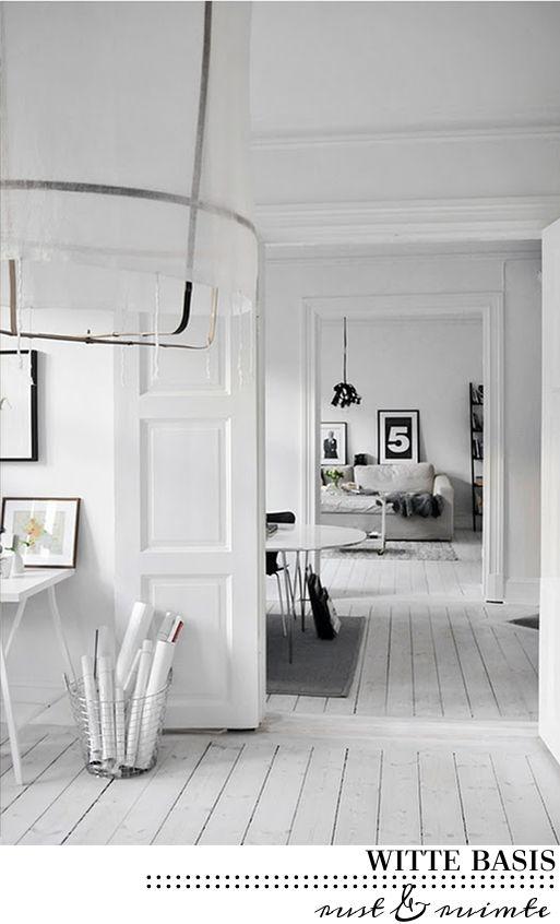 villa d\'Esta | interieur en wonen: Witte houten vloeren met een ...