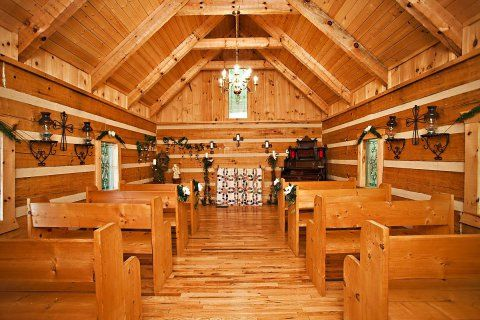 creekside cove wedding chapel call us today to rent this beautiful log chapel for
