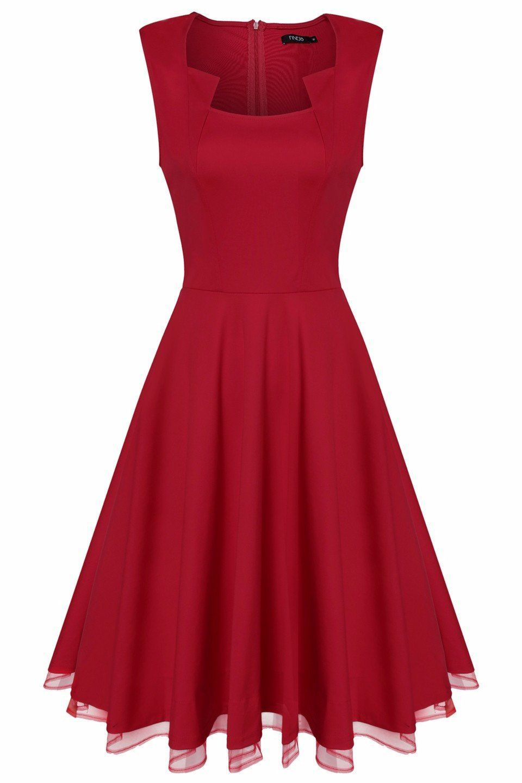Sleeveless tank high waist solid aline dress products pinterest
