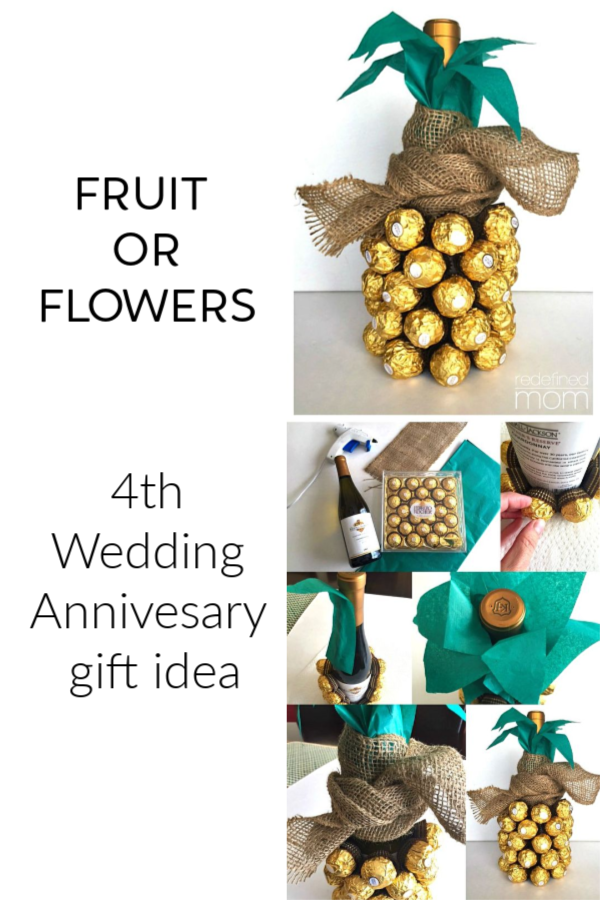 Cool Anniversary Gift Ideas For The First 5 Years Blooming Lovely Bouquets 4th Anniversary Gifts Traditional Anniversary Gifts 4th Year Anniversary Gifts