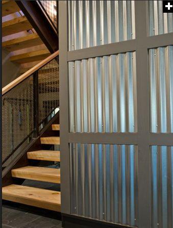 Rustic Corrugated Metal Interiors   Google Search