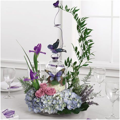 Erfly Wedding Centerpiece Summer Centerpieces Decorations Table