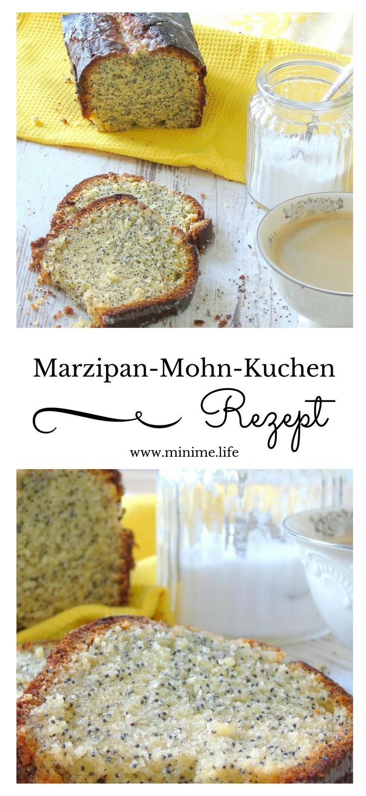 Mohnkuchen Mit Marzipan Und Zitronenguss Rezept Kochen Backen