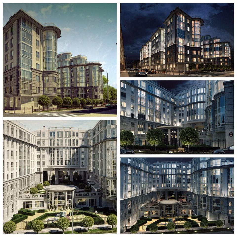 Buy 13 room apartments in the elite residential complex