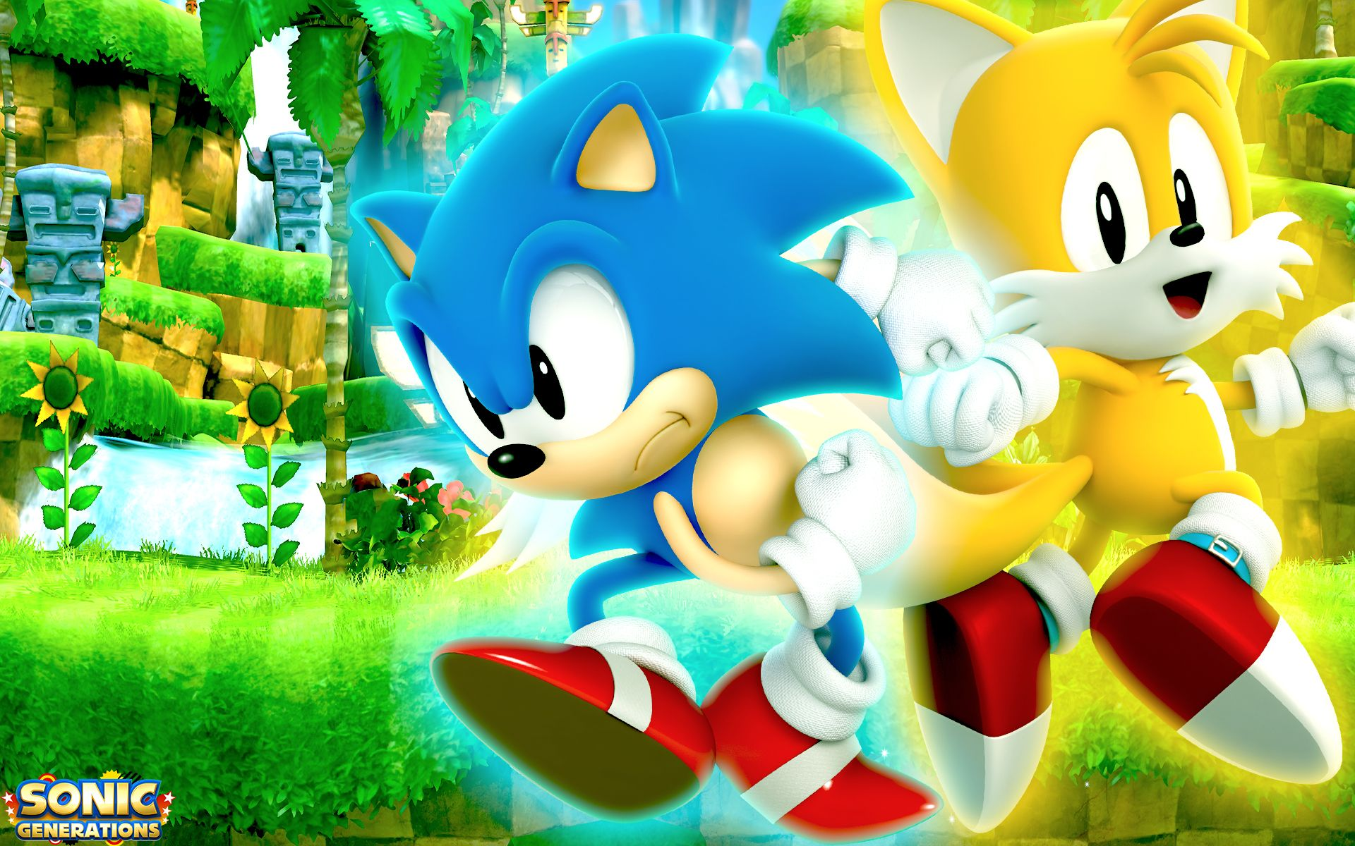 Sonic and Tails! | Sonic | Classic sonic, Sonic generations