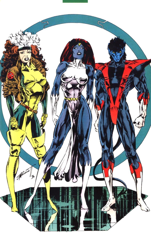 Comic X Men Unlimited 1993 4 Page 54 Nightcrawler S Family Single Image Https Readcomiconline To Com Marvel Comics Art Marvel Superheroes Marvel Girls