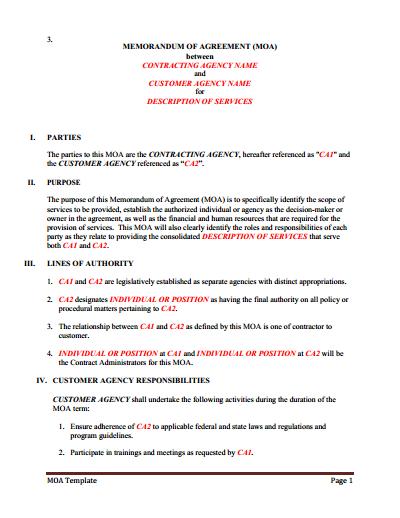 Memorandum Of Understanding Download Edit Fill Print Wondershare Pdfelement Memorandum Business Resume Template Newsletter Template Free