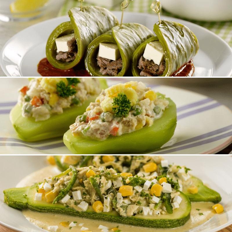 Recetas De Verduras Rellenas Recetas Con Verduras Comida Comidas Con Verduras