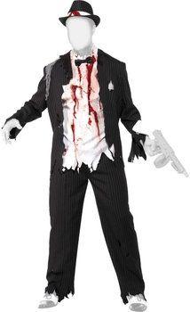 Disfraz de #zombie Gangster de Smiffy disponible a partir de 39 € en http://www.idealo.es/precios/4841843/smiffy-s-zombie-gangster-costume.html