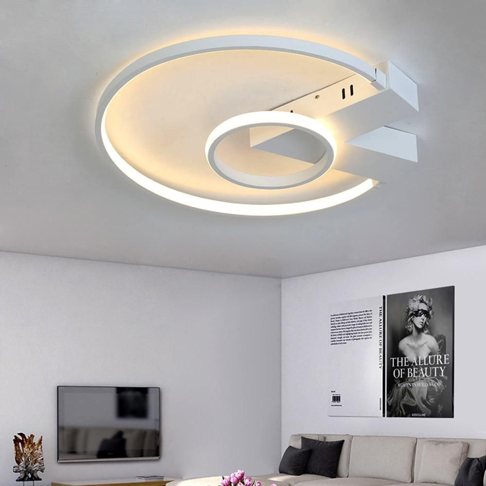 Led Ceiling Lamp With Dimmable For Living Room Bedroom