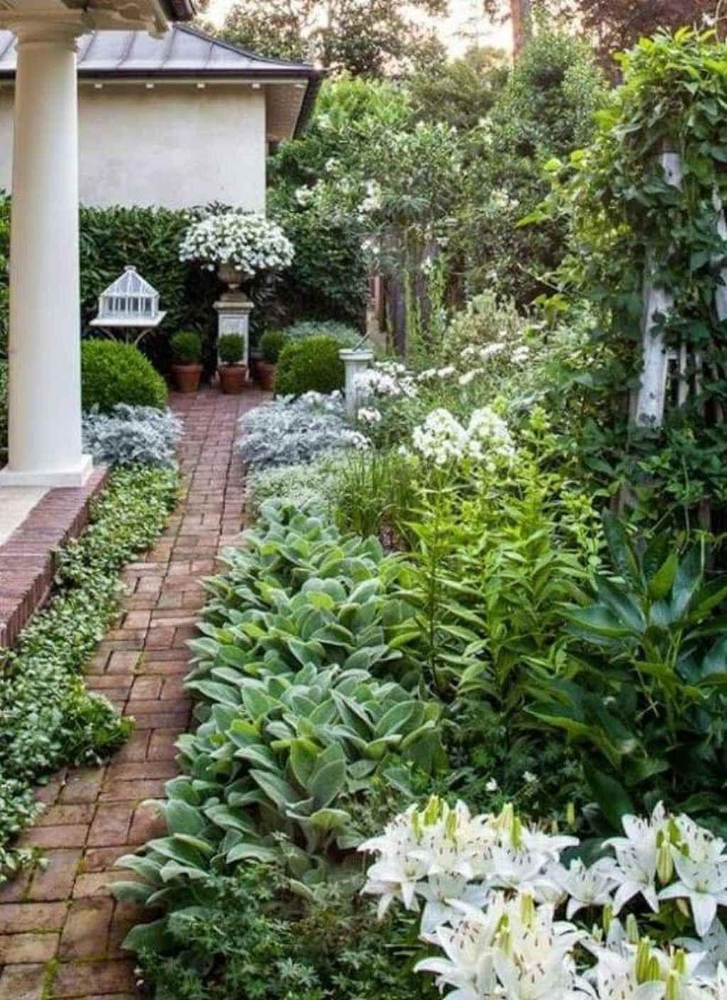 95 Beautiful Side Yard Garden Pathway Design Ideas in 2020 ...