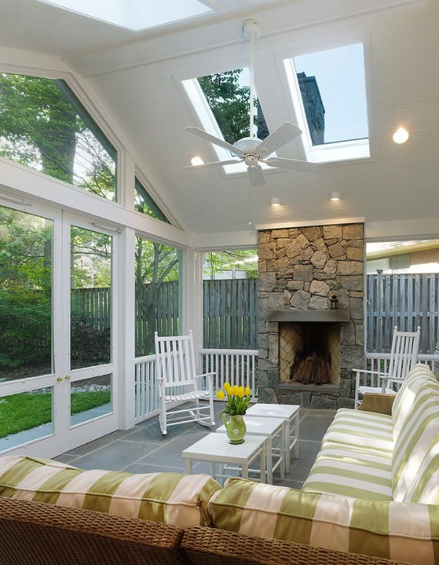 Home Additions Sunroom Decorating Four Seasons Room: Sunroom Designs, Porch Design, House With Porch