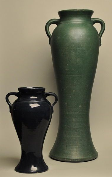 Bauer Pottery Rare And Expensive Rebecca Vases By Matt Carlton