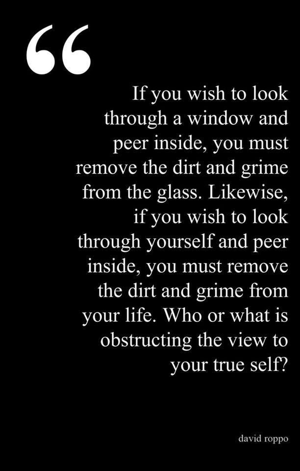 What Is Obstructing You To See Your True Self Quotes To Live