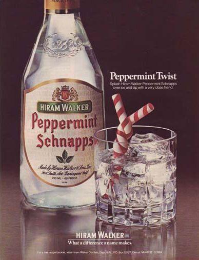 Hiram Walker Peppermint Schnapps Schnapps Peppermint Hiram Walker