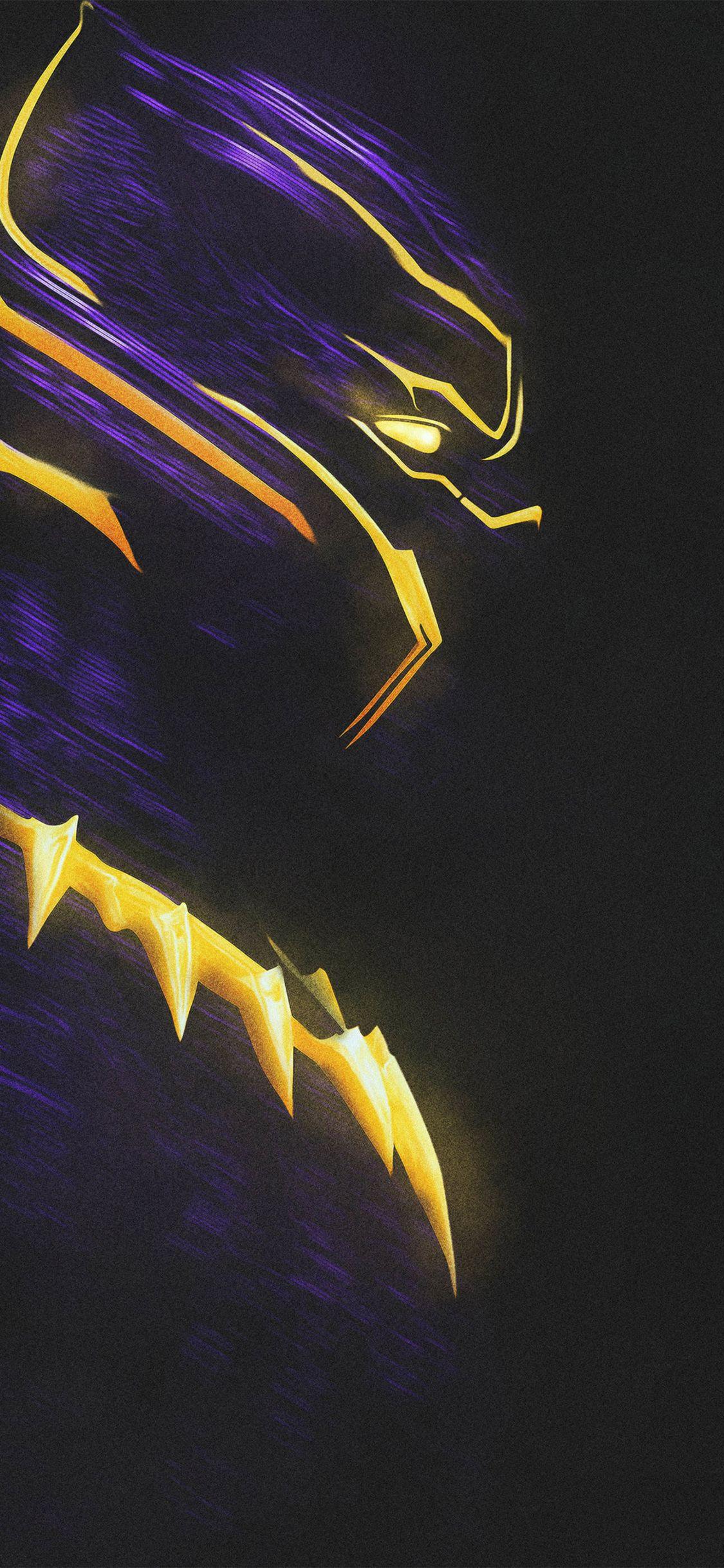 Desktophdwallpaper Org Black Panther Art Panther Art Black Panther Hd Wallpaper